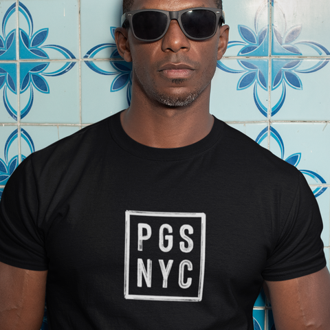 Official PGSNYC Unisex Black Tee
