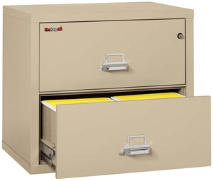 "FireKing 2-3122-C Two Drawer 31"" Lateral Fireproof File Cabinet"