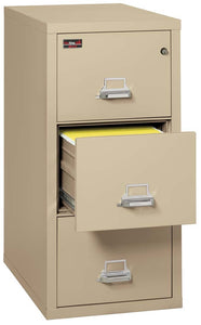 FireKing 3-2144-2 3 Drawer Vertical Legal Size Filing Cabinet