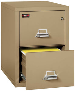 FireKing 2-1929-2 Two Drawer Vertical Letter Size Filing Cabinet