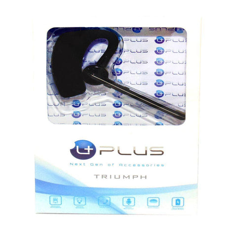uPlus V8 Triumph Sports Handsfree Bluetooth Wireless Stereo Headset, Silver