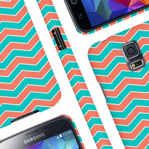 Image of Empire Signature Series Mint Chevron One Piece Slim-Fit Case Phone Cases & Covers