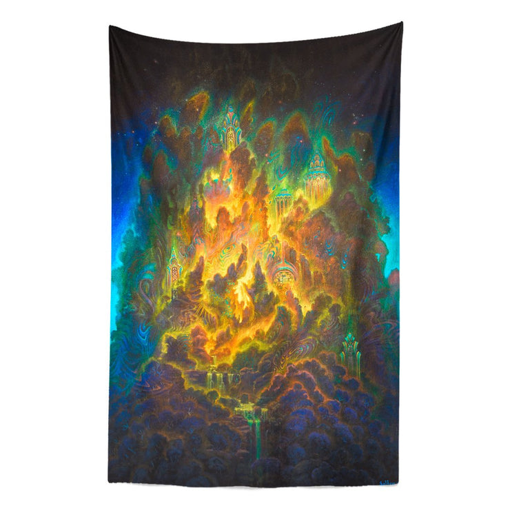 Misty Mountains Tapestry