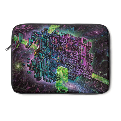 FLUORITE SPACE JAMMER Laptop Sleeve