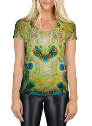 Compoundable Bliss SCOOP NECK T-SHIRT