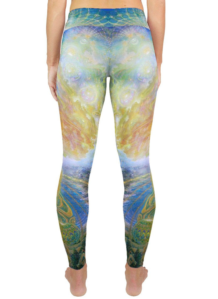 Duality of Man Active Leggings