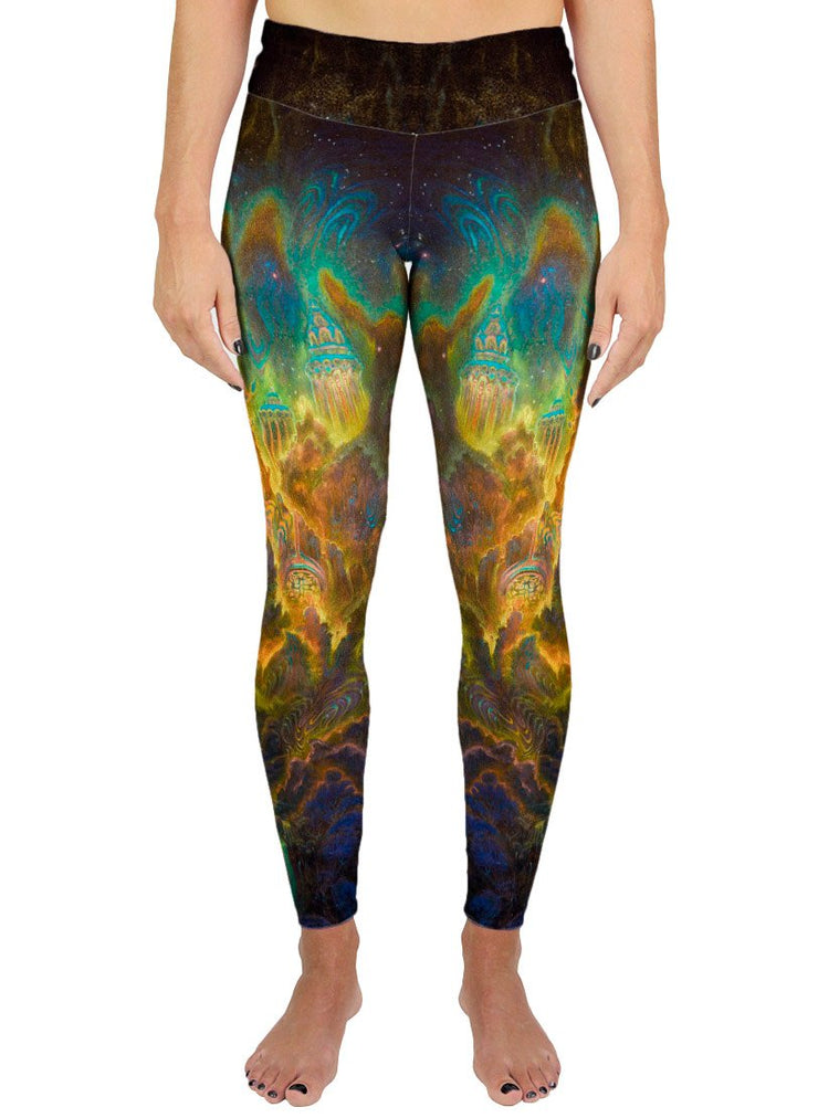 Misty Mountains Active Leggings