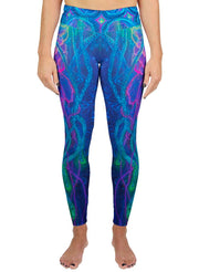 Brain Coral Jelly Active Leggings
