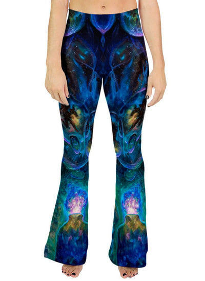 Theory of Droplet Dimensions Bell Bottoms