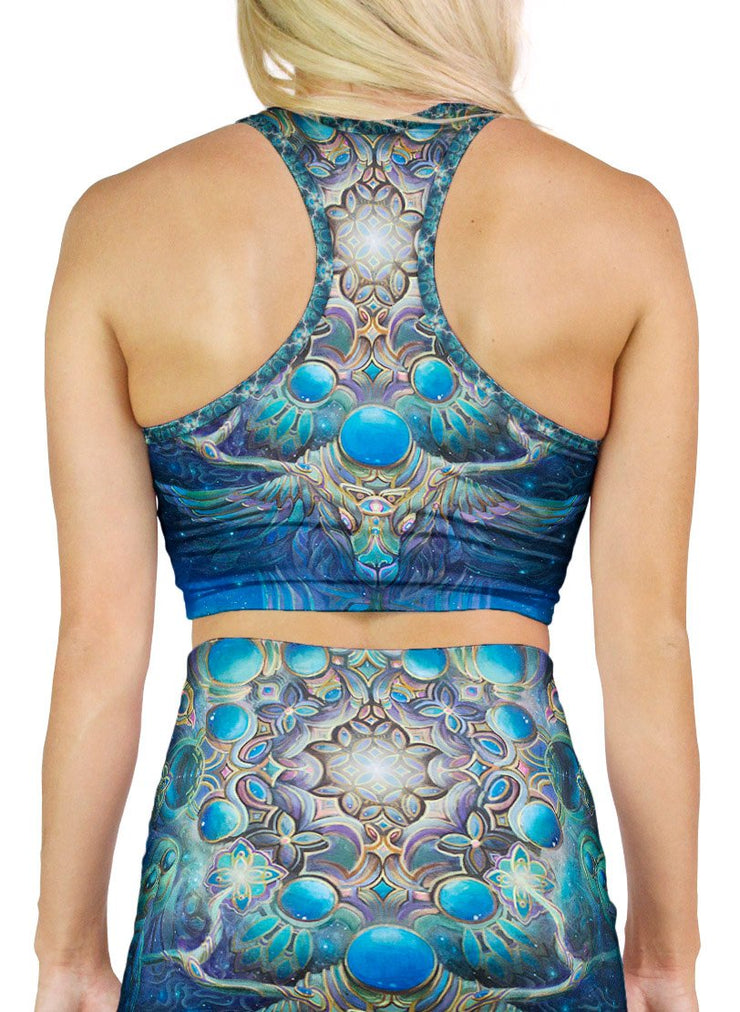 Gateway to the North Star Racerback Crop Top