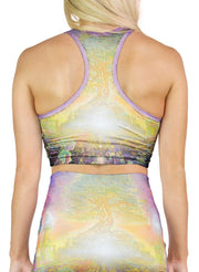 Eden Racerback Crop Top