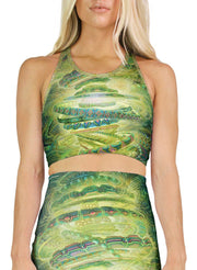 Revolutions Racerback Crop Top