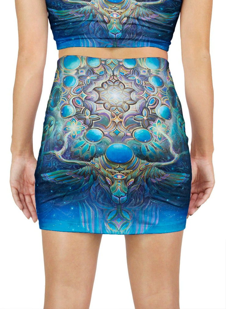 Gateway to the North Star Mini Skirt