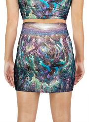 Galactic Jelly Mini Skirt