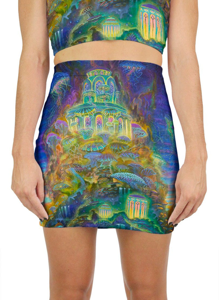 Mycelium Mesa Mini Skirt
