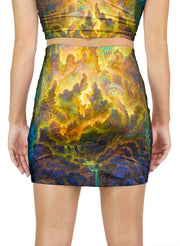 Misty Mountains Mini Skirt