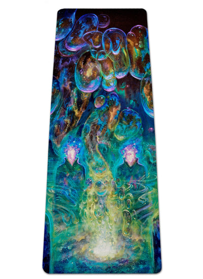 Theory of Droplet Dimensions Yoga Mat
