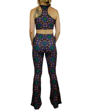 Cubed  Pattern Bell Bottoms