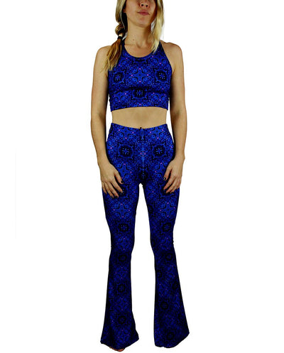 Terra Pattern Bell Bottoms