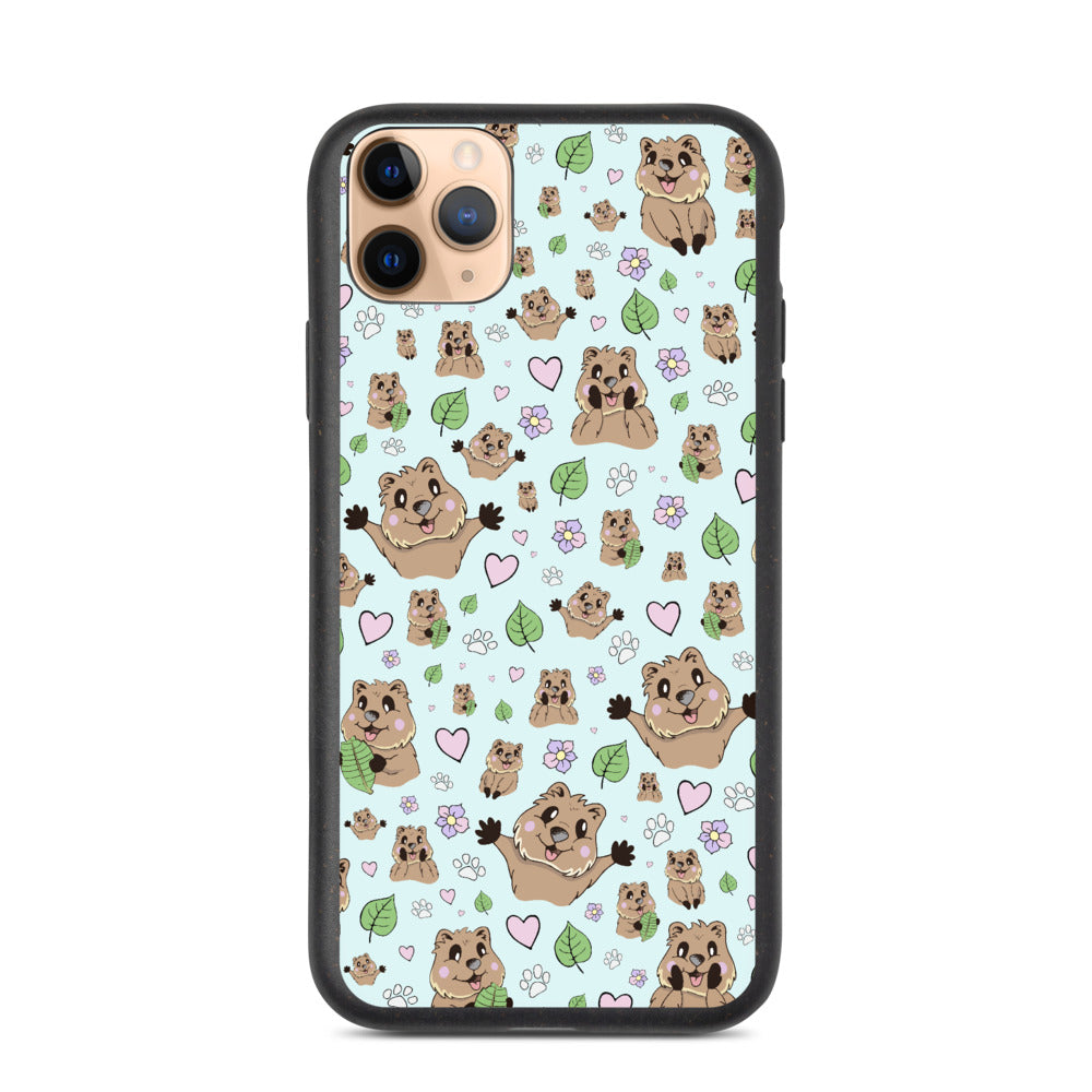 Quokka Biodegradable iPhone X 7-11 Plus SE Pro Max Case