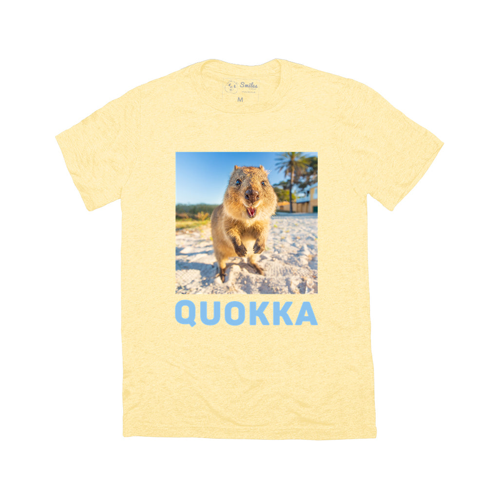 Quokka T-shirt - Happiness - Crew Neck (unisex)