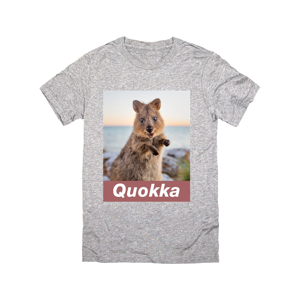 Quokka T-shirt - Sunrise - Crew Neck (unisex)