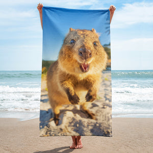 Quokka Towel - Smile Bright