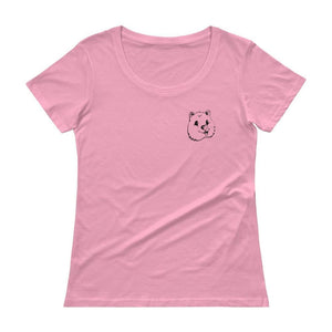 Quokka Smile Scoop T-Shirt (Womens)-Quokka Hub