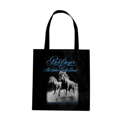 Bob Seger Against The Wind Tote - Black