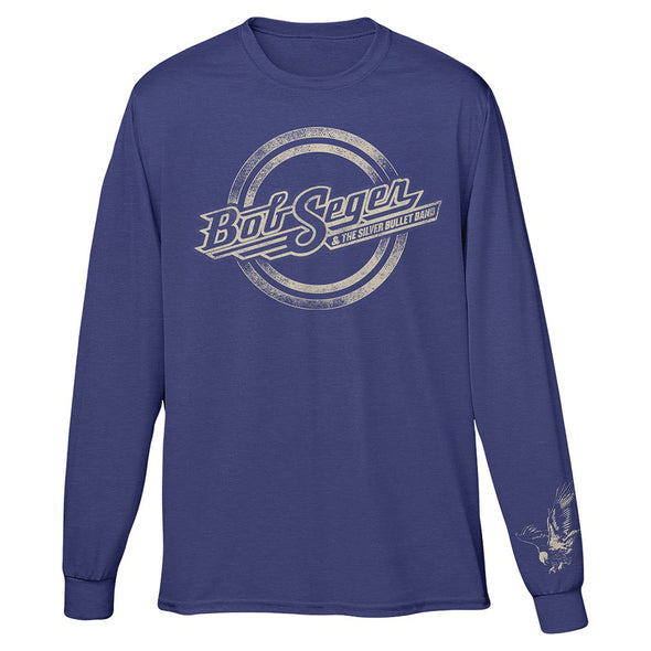 Bob Seger & The Silver Bullet Band Logo Long Sleeve