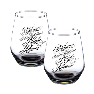 Bob Seger Night Moves Wine Glass Set