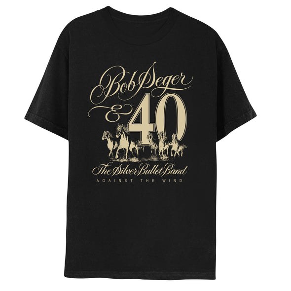 Against The Wind 40th Anniversary Short Sleeve Tee