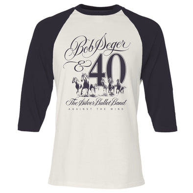 Against The Wind 40th Anniversary Raglan Shirt
