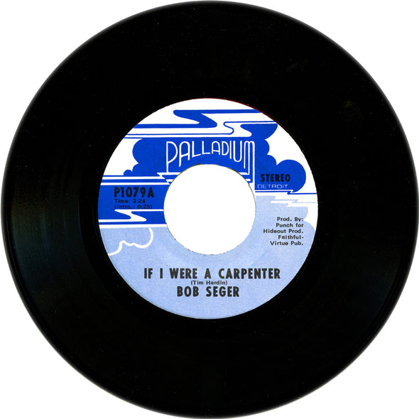 If I Were A Carpenter/Jesse James original vinyl 45-Bob Seger