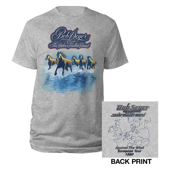 Against the Wind Vintage Tour Tee-Bob Seger