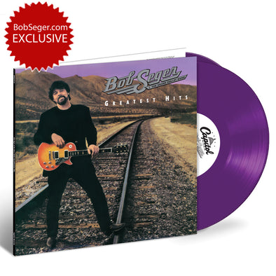 Greatest Hits Purple 2 LP Vinyl 150 gram-Bob Seger