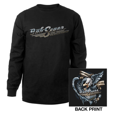 Bob Seger Runaway Train Long Sleeve Tee-Bob Seger