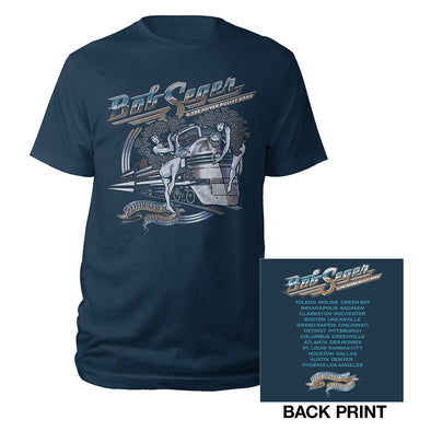 Girls on the Train 2017 Runaway Train Tour Tee-Bob Seger