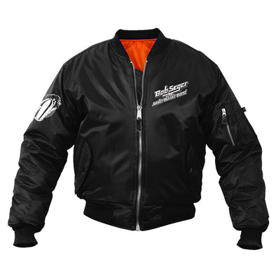Girls on the Bullet classic patch jacket-Bob Seger