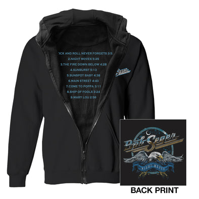 Night Moves Zip Sweatshirt-Bob Seger