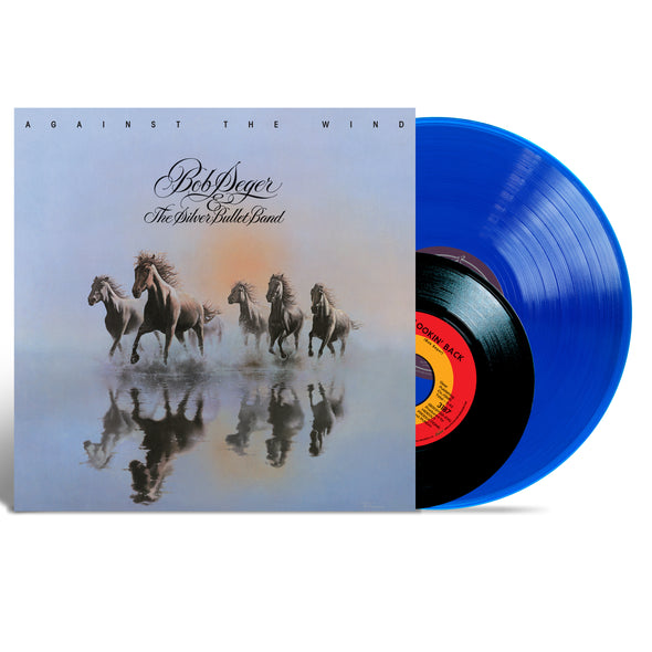 "Against The Wind 40th Anniversary Blue Vinyl 150 gram & 7"" Single 120gram"