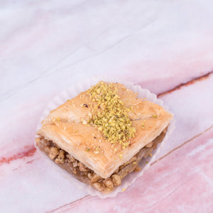 Walnut Baklava Square