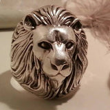 Lion Ring, Lion Totem Ring, Silver Lion Ring, Lion jewellery, Lion Totem jewellery, Animal Totem jewellery, Animal Totem Ring, Silver Totem jewellery by Soto Collective