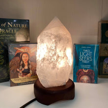 Load image into Gallery viewer, Azeztulite Crystal Lamp