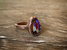Load image into Gallery viewer, Opal Copper Ring