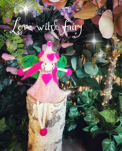 Love Witch - Felt Fairy