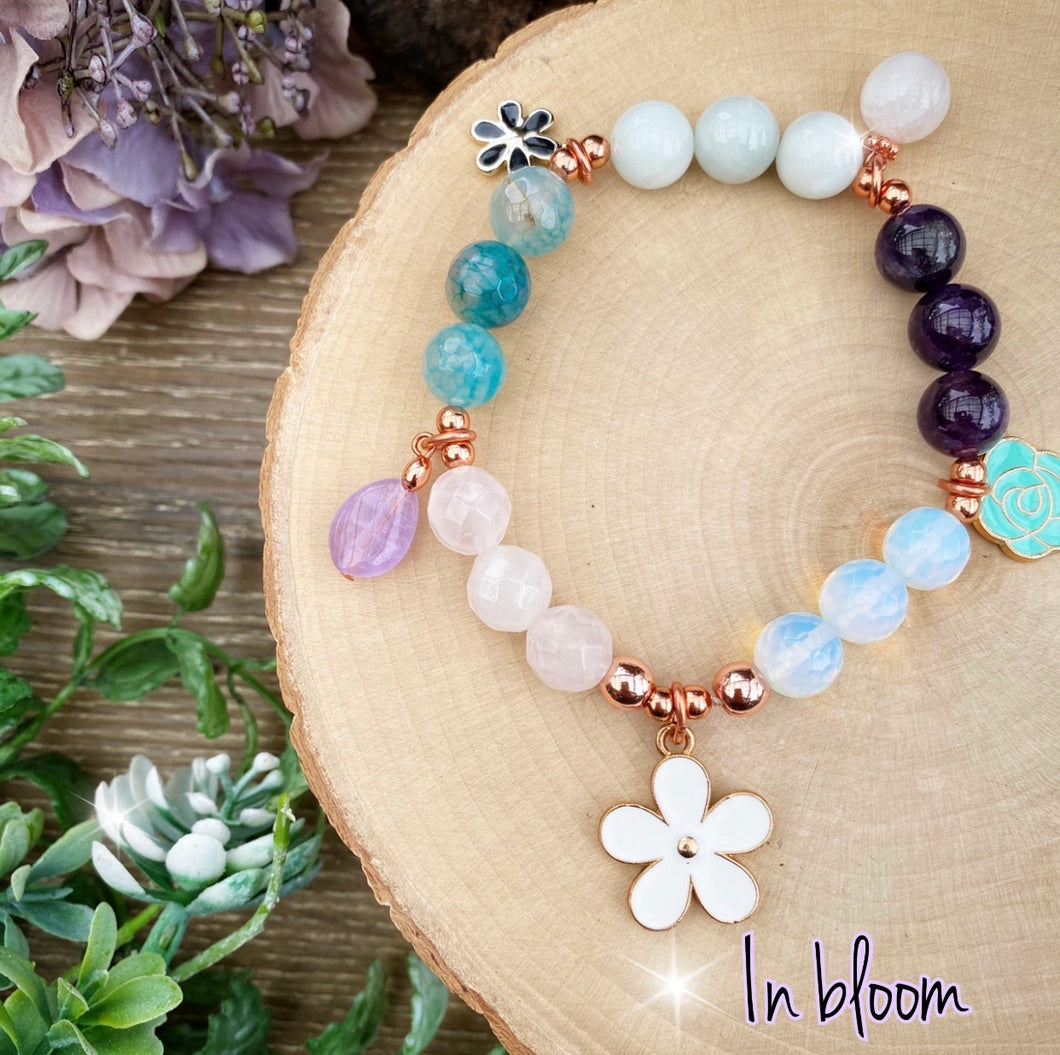 In Bloom - Springtime crystal bracelet