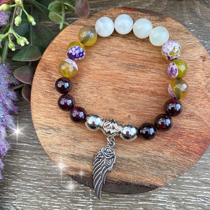 Fertility and Pregnancy crystal bead bracelet