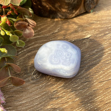 Load image into Gallery viewer, Blue Lace Agate polished crystal form
