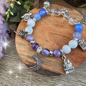Once upon a time- crystal bead bracelet